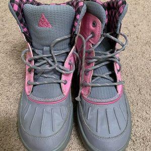 Girls Nike boots